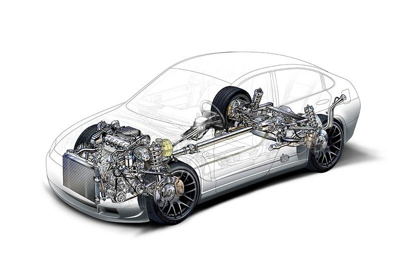 Устройство ходовой части автомобиля