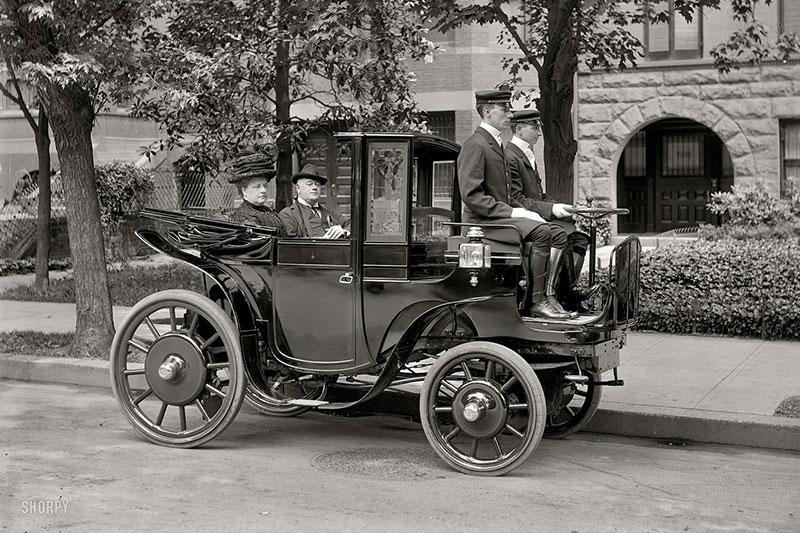 История электромобиля