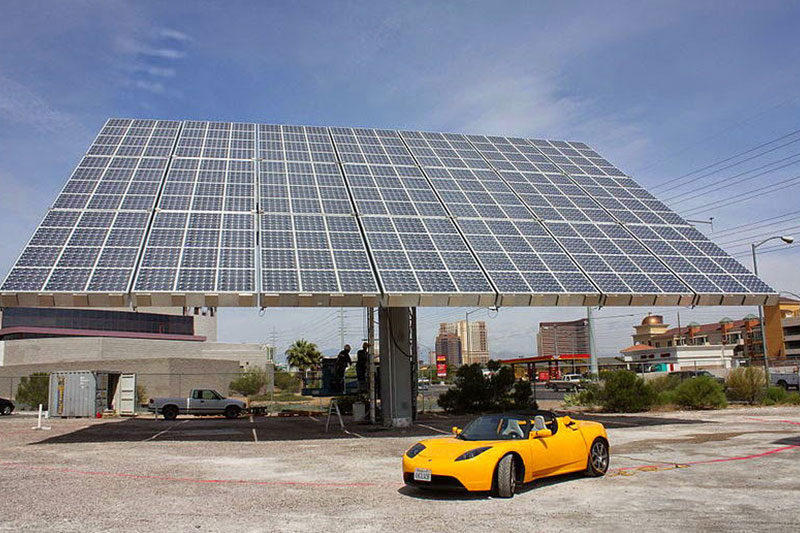 Солнечные батареи для электромобиля