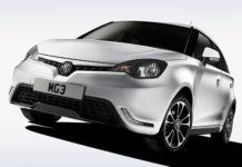 Автомобиль MG3