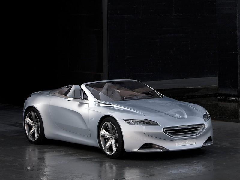 Peugeot SR1 - современный концепткар
