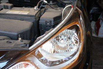 Как подключить светодиодные фары