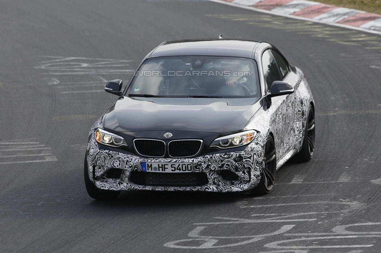 BMW M2 Coupe 2016 шпионские фото