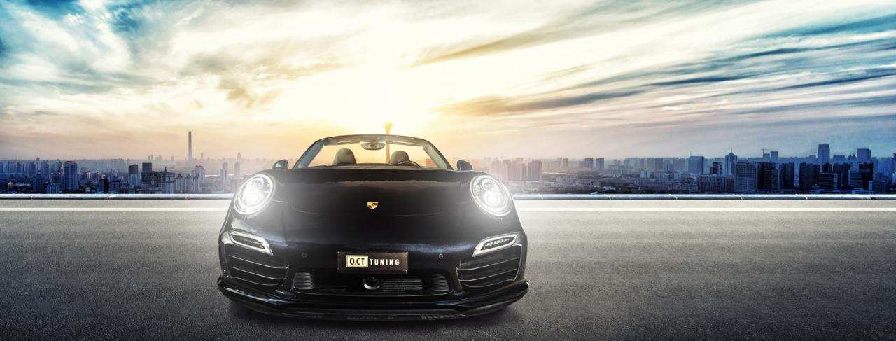 Porsche 911 Turbo S Cabriolet от O.CT Tuning