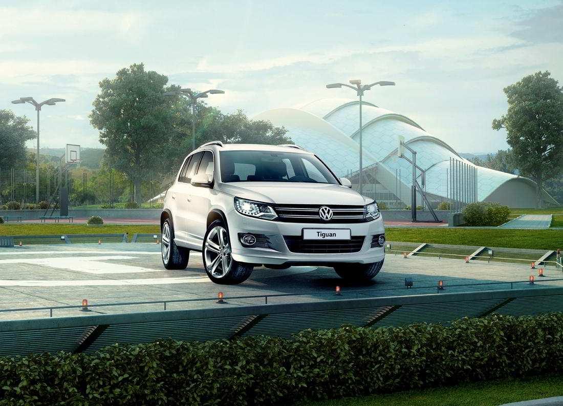 Volkswagen Tiguan Sport 2015